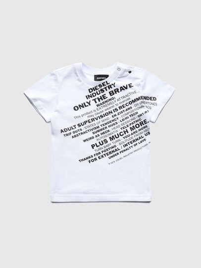 Diesel - TDIEGOS3B, Blanco - Camisetas y Tops - Image 1