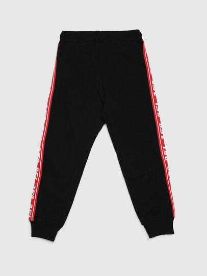 Diesel - PSUITA, Negro/ Rojo - Pantalones - Image 2