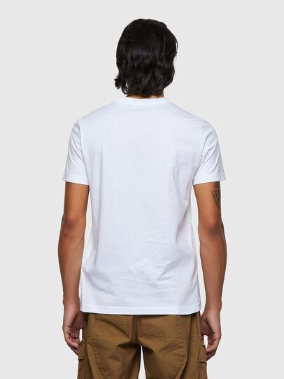 Diesel - T-DIEGOS-ECOSMALLOGO, Blanco - Camisetas - Image 2