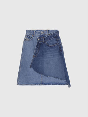 DE-TOBY, Azul medio - Faldas
