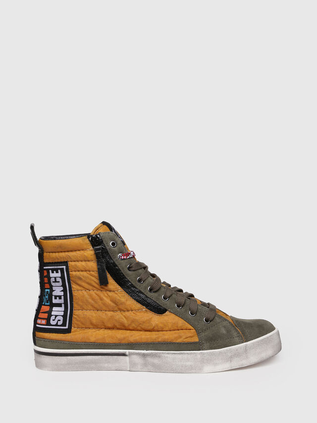 Diesel - D-VELOWS MID PATCH, Amarillo - Sneakers - Image 1