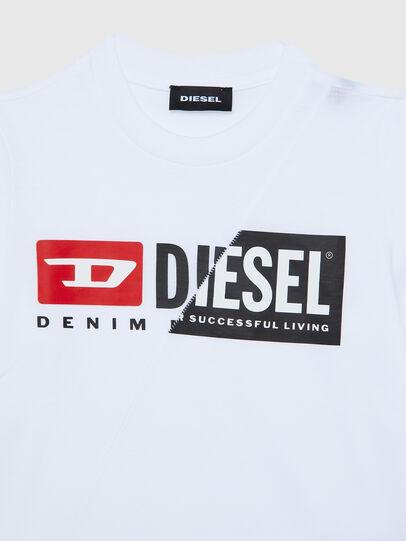 Diesel - TDIEGOCUTYB ML-R, Blanco - Camisetas y Tops - Image 3