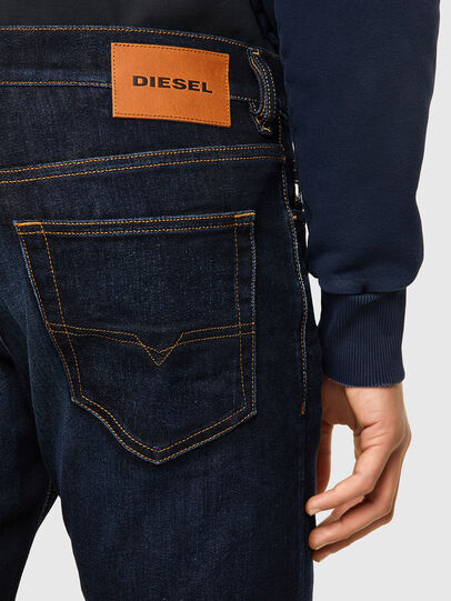 Diesel - D-Luster 009ZS, Azul Oscuro - Vaqueros - Image 3