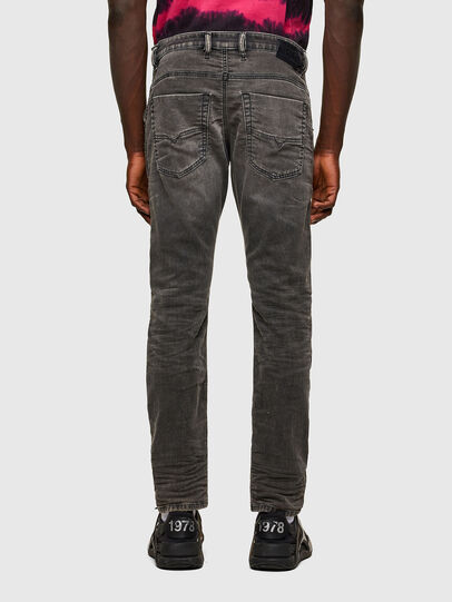 Diesel - Krooley JoggJeans® 069SY, Negro/Gris oscuro - Vaqueros - Image 2