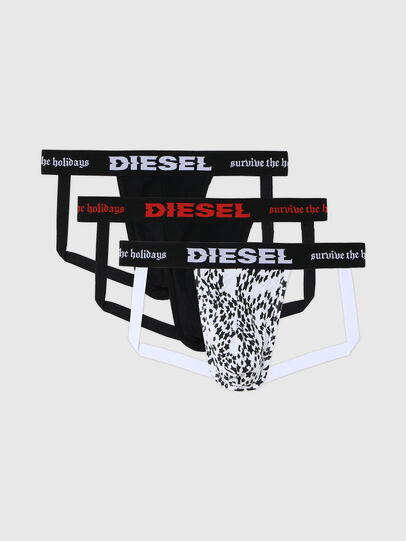 Diesel - UMBR-JOCKYTHREEPACK, Negro/Blanco - Jockstraps - Image 1