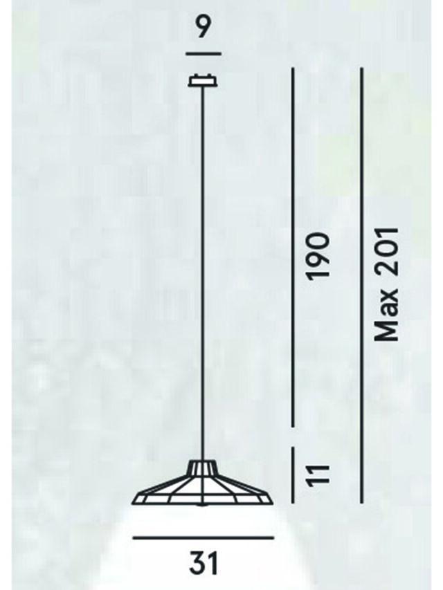 Diesel - MYSTERIO SOSPENSIONE, Negro/Gris - Lámparas de Suspensión - Image 2