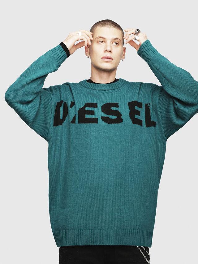 Diesel - K-LOGOX, Verde Oscuro - Punto - Image 1