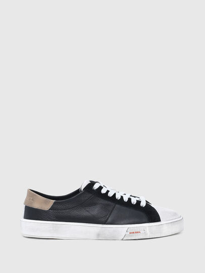 Diesel - S-MYDORI LC, Negro/Beige - Sneakers - Image 1