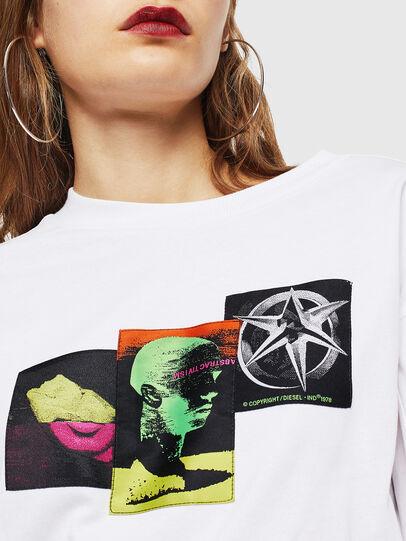 Diesel - T-GLYNIS-J1, Blanco - Camisetas - Image 4