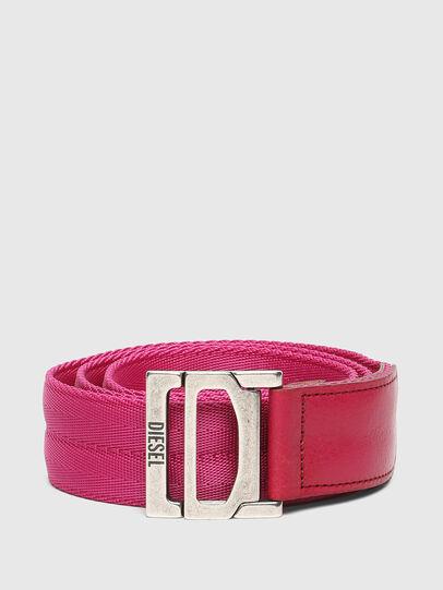 Diesel - B-WEBI, Rosa - Cinturones - Image 1