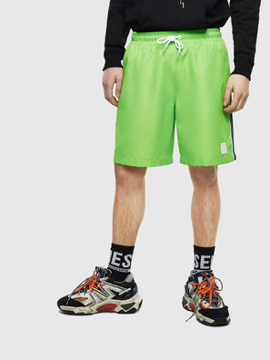 P-KEITH, Verde Fluo - Shorts