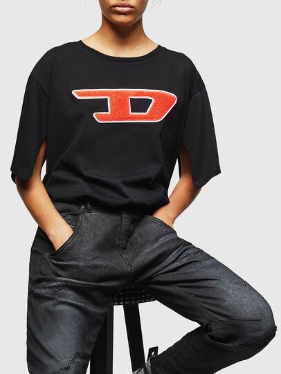 Diesel - Fayza JoggJeans 069GP, Negro/Gris oscuro - Vaqueros - Image 4