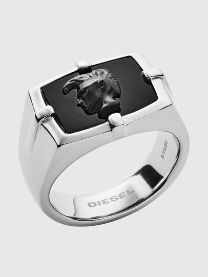 Diesel - DX1175, Plateado/Noir - Anillos - Image 1