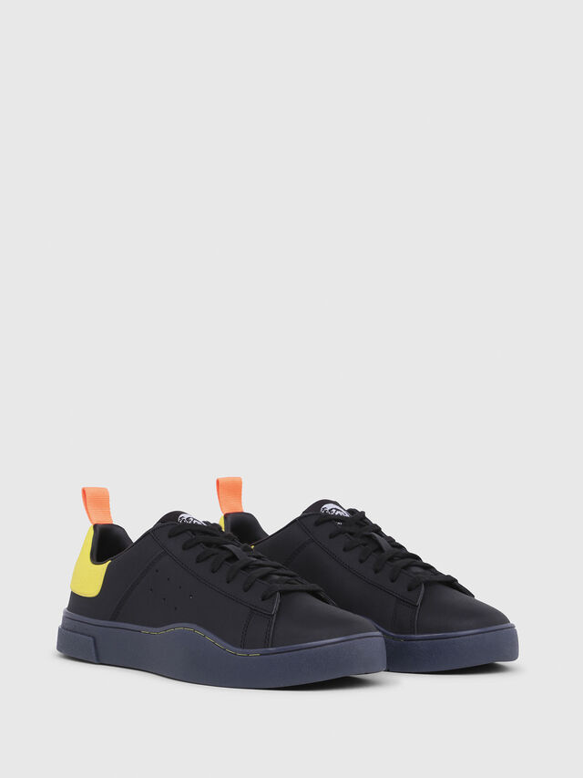 Diesel - S-CLEVER LOW, Negro/Amarillo - Sneakers - Image 2