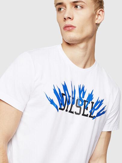 Diesel - T-DIEGO-A10, Blanco - Camisetas - Image 3