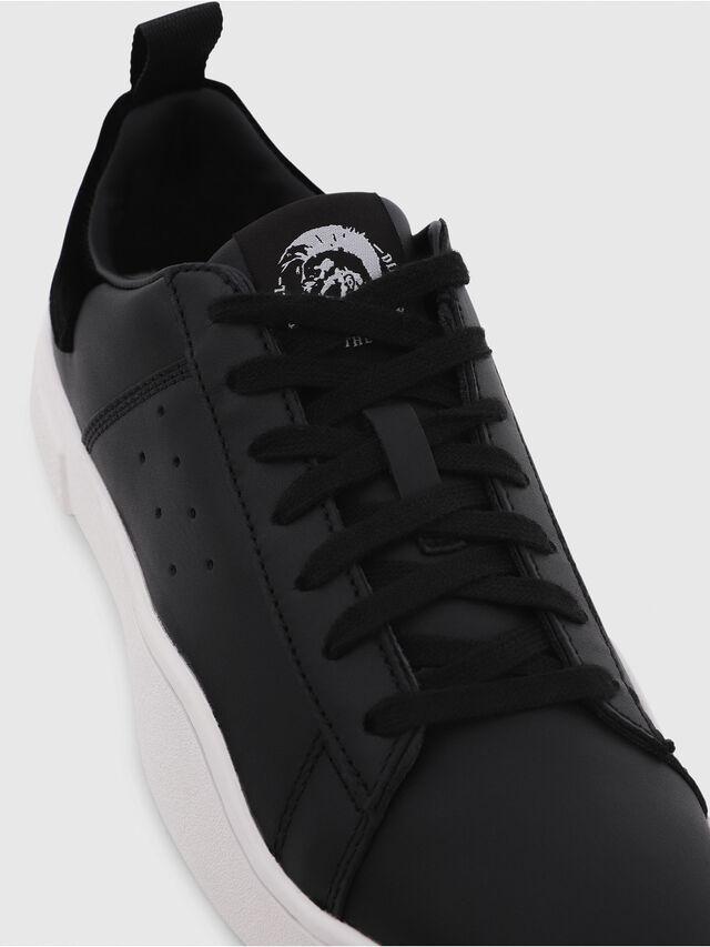 Diesel - S-CLEVER LOW W, Negro - Sneakers - Image 4