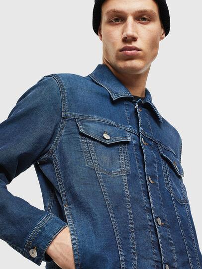 Diesel - NHILL JOGGJEANS, Blue Jeans - Chaquetas de denim - Image 5