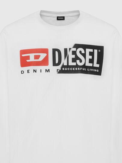 Diesel - T-DIEGO-LS-CUTY, Blanco - Camisetas - Image 3