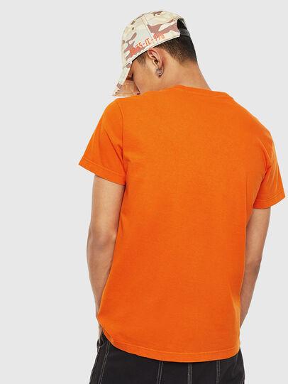 Diesel - T-WORKY-MOHI-S1, Naranja - Camisetas - Image 2