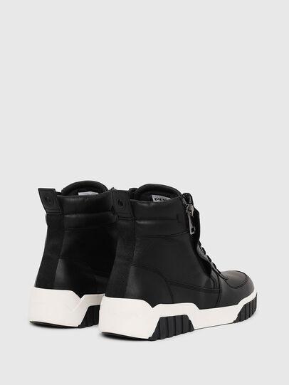 Diesel - S-RUA MID, Negro - Sneakers - Image 3