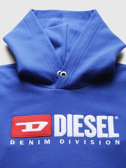 Diesel - SDIVISION OVER, Cerúleo - Sudaderas - Image 3