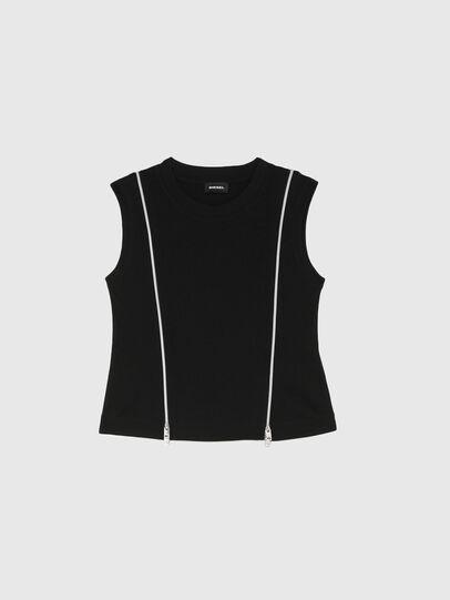 Diesel - TGARTH, Negro - Camisetas y Tops - Image 1
