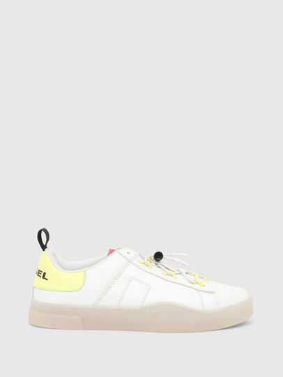 Diesel - S-CLEVER SO C, Blanco/Amarillo - Sneakers - Image 1
