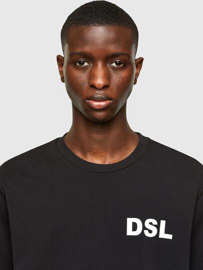 Diesel - T-JUST-E10, Negro - Camisetas - Image 3
