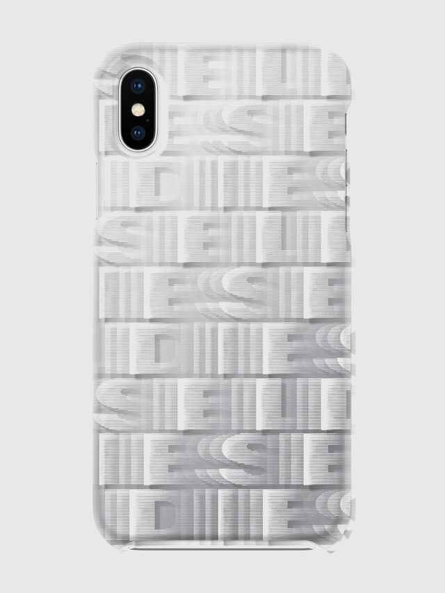 Diesel - DIESEL PRINTED CO-MOLD CASE FOR IPHONE XS & IPHONE X, Blanco - Fundas - Image 2