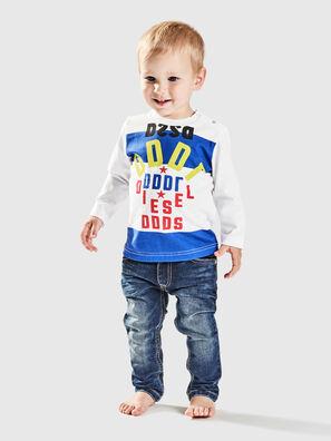 TOLIB, Blanco/Azul - Camisetas y Tops