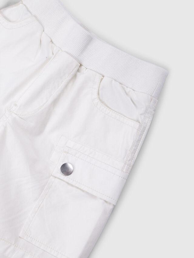 Diesel - PECCIB, Blanco - Shorts - Image 3