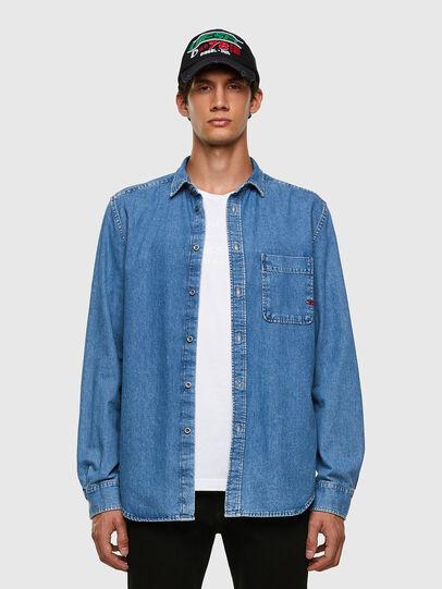 Diesel - D-BILLY, Azul Claro - Camisas de Denim - Image 4