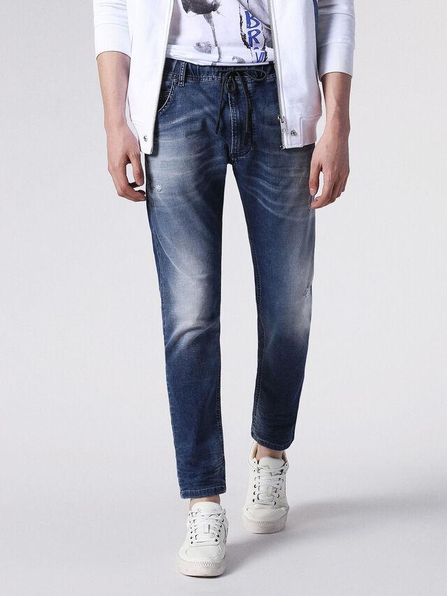 Diesel - KROOLEY JOGGJEANS 0683R, Blue Jeans - Vaqueros - Image 1