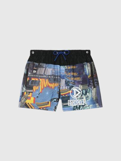 Diesel - BMBX-WAVE-Y, Negro/Azul marino - Bañadores boxers - Image 4