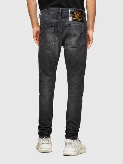 Diesel - D-Reeft JoggJeans® 009SU, Negro/Gris oscuro - Vaqueros - Image 2
