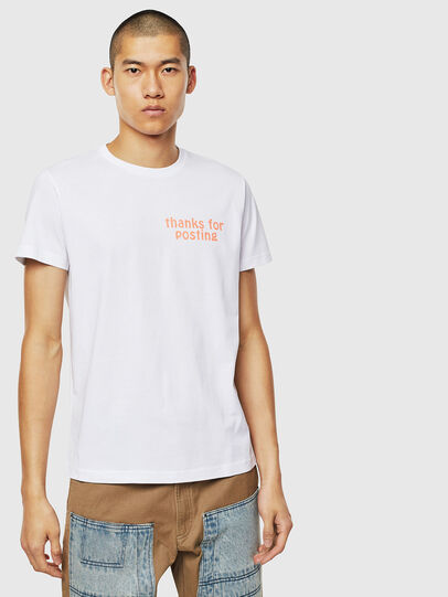 Diesel - T-DIEGO-J20, Blanco - Camisetas - Image 1