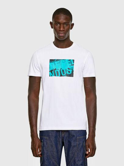 Diesel - T-DIEGOS-K16, Blanco - Camisetas - Image 1