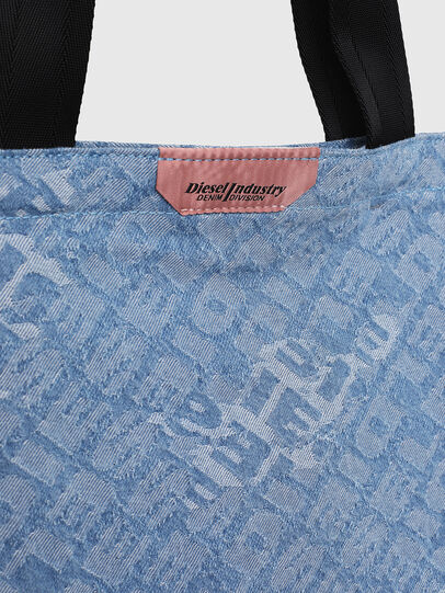Diesel - F-THISBAG SHOPPER NS, Blue Jeans - Bolsos Shopper y Al Hombro - Image 4
