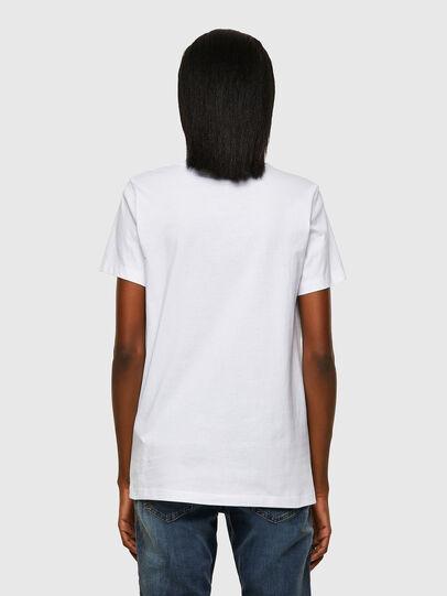 Diesel - T-SILY-ECOSMALLOGO, Blanco - Camisetas - Image 2