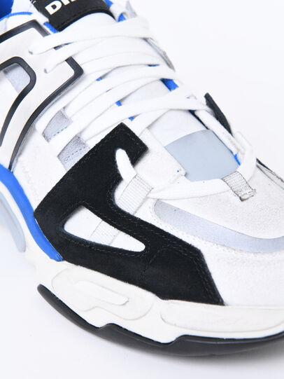 Diesel - S-KIPPER LOW TREK II, Blanco/Negro - Sneakers - Image 4