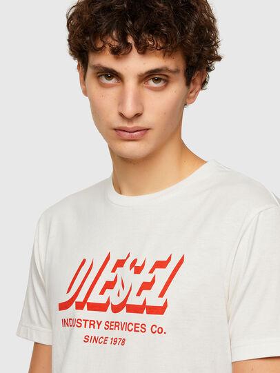 Diesel - T-DIEGOS-A5, Blanco - Camisetas - Image 3
