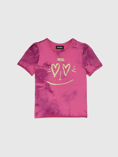Diesel - TINTDB-R, Rosa - Camisetas y Tops - Image 1