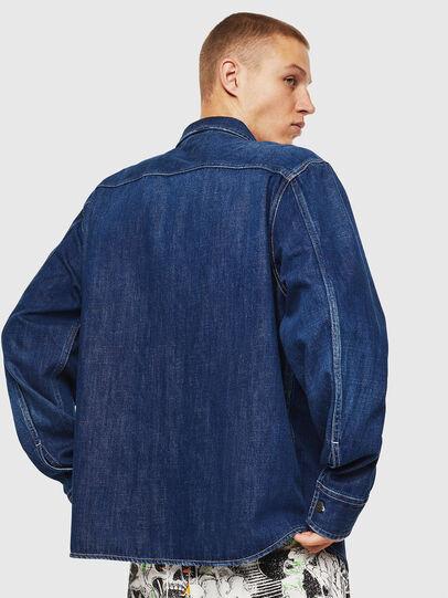 Diesel - D-FLOX, Azul medio - Camisas de Denim - Image 2