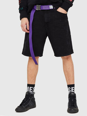 D-WILLOH, Negro/Gris oscuro - Shorts