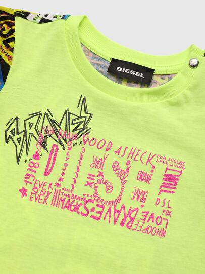 Diesel - TAIRB, Verde Fluo - Camisetas y Tops - Image 3