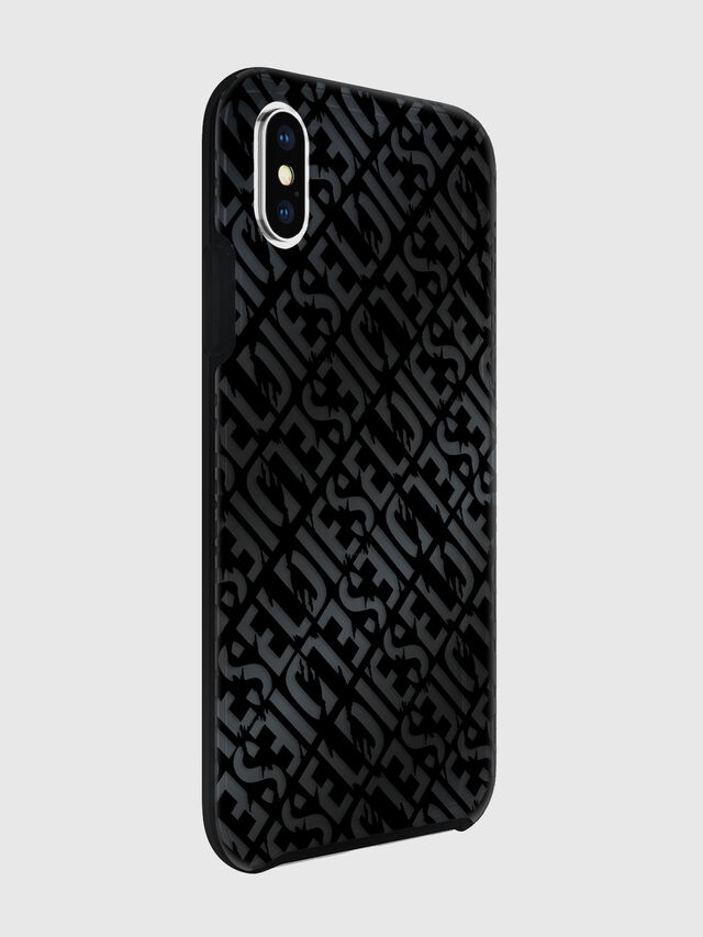 Diesel - DIESEL PRINTED CO-MOLD CASE FOR IPHONE XS & IPHONE X, Negro - Fundas - Image 6