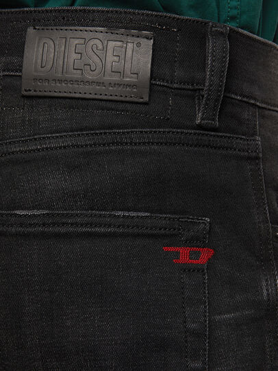 Diesel - D-Strukt 0098B, Negro/Gris oscuro - Vaqueros - Image 4