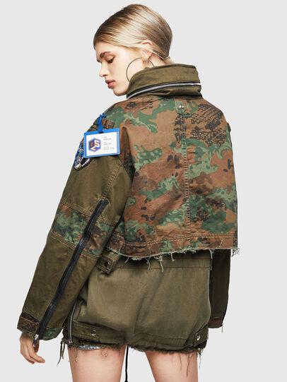 Diesel - G-LEE-C, Verde Militar - Chaquetas - Image 2