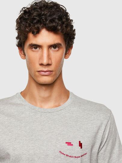 Diesel - T-DIEGOS-N28, Gris - Camisetas - Image 3