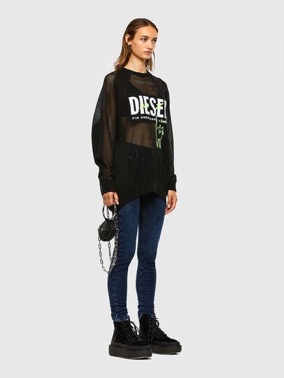 Diesel - D-Roisin 009CY, Azul Oscuro - Vaqueros - Image 5
